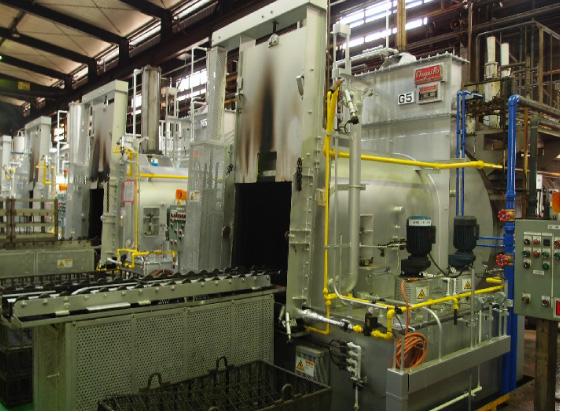 オールケース型ガス浸炭炉